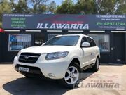 2006 Hyundai Santa Fe CM MY07 SLX CRDi (4x4) White 5 Speed Automatic Wagon Barrack Heights Shellharbour Area Preview