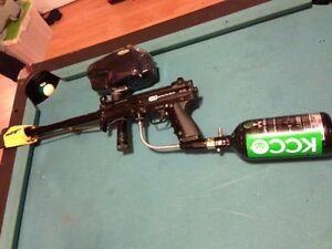 ton of paintball markers and gear (finally parting out)