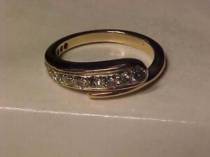 #1100-14K Y/Gold DRESS RING *APPRAISED $3,250.00 SELL-$895.00-Size 7--WILL SHIP CANADA ONLY-EBANK TRANSFER -LAYAWAY AVA