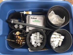 Irrigation fittings and supplies