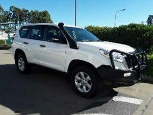 2014 Toyota Landcruiser Prado KDJ150R MY14 GX White 5 Speed Sports Automatic Wagon Acacia Ridge Brisbane South West Preview