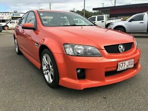 2006 Holden Commodore SV6 Orange Automatic Sedan Wacol Brisbane South West Preview
