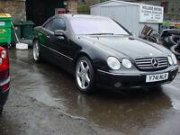 Mercedes-Benz CL 500 Coupe V8 Auto(2001)