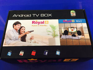 Android TV Box Royal+ MX2 (new condition)