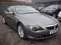 BMW 6 SERIES 4.4 645CI 2d AUTO 329 BHP Sat nav - Leather - Xeno (grey) 2004