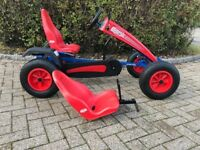 BERG PEDAL GO-KART WITH BUDDY SEAT IN GREAT CONDITION