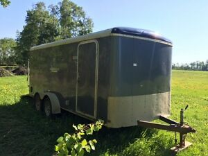 2010  16' Mirage Enclosed Cargo Trailer