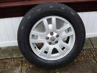tyres/alloys