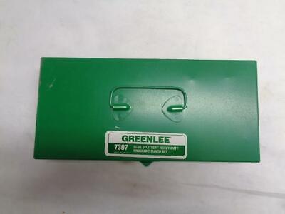 New Greenlee 7307 12-2 Conduit Slug Splitter Heavy Duty Knockout Punch Set R53