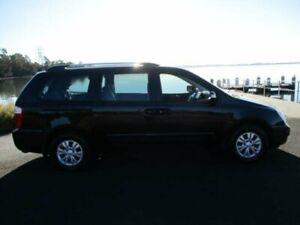 2012 Kia Grand Carnival VQ MY12 SI Black 6 Speed Automatic Wagon Dapto Wollongong Area Preview
