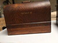 Singer Sewing Machine 99K-CRANKED WHEEL