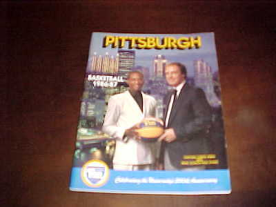 1986 Pitt Panthers Basketball Media Guide