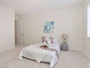 Beautiful Furnished 1 Bed Room in Home Upstairs Available Rent