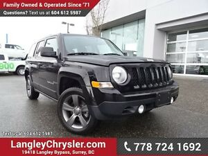 2015 Jeep Patriot Sport/North W/ 4X4, LEATHER & SUNROOF