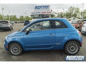 2015 Fiat 500 LOADED LEATHER PRICE DROP
