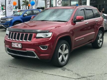 2015 Jeep Grand Cherokee WK MY15 Overland Red 8 Speed Sports Automatic Wagon