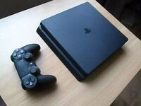 sony ps4 500gb jet black for sale