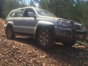 2004 Toyota Landcruiser Prado KZJ120R GXL (4x4) Silver 4 Speed Automatic Wagon Woodville Park Charles Sturt Area Preview