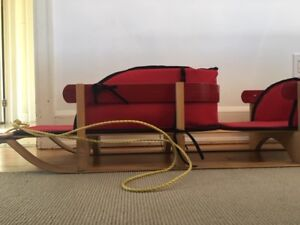 Twin Sleigh - Streamridge Frontier Twin with Red Pads $140.00