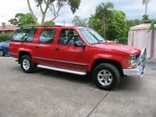 1999 Holden Suburban K8 2500 LS (4x4) Red 4 Speed Automatic 4x4 Wagon Kingsgrove Canterbury Area Preview