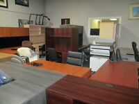 Office Furniture Used and New Desks Over 50 In stock  Desks