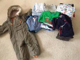 Baby boy 6-9 month used & good condition clothes bundle for sale £25 ONLY! Harrow area.