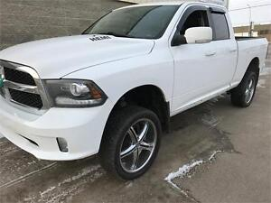 2014 Ram 1500 Sport, Lifted! comes W- U pick the rims and tires!