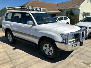 1998 Toyota Landcruiser GXV (4x4) White 4 Speed Automatic 4x4 Wagon Park Holme Marion Area Preview