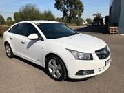 2010 Holden Cruze JG CDX White 6 Speed Automatic Sedan Hoppers Crossing Wyndham Area Preview