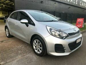 2015 Kia Rio UB MY16 S Silver 4 Speed Sports Automatic Hatchback Mayfield West Newcastle Area Preview