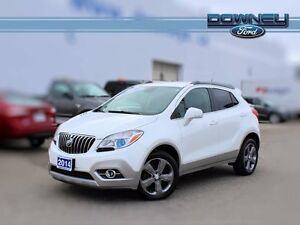 2014 Buick ENCORE AWD, LEATHER, HEATED SEATS, READY TO GO!!!