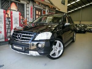 2009 Mercedes-Benz M-Class W164 MY10 ML350 AMG Sports Black 7 Speed Sports Automatic Wagon Rydalmere Parramatta Area Preview