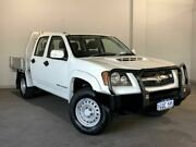 2009 Holden Colorado RC MY09 LX Crew Cab White 5 Speed Manual Cab Chassis Bayswater Bayswater Area Preview