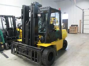 Forklift Hyster H90XL,INDOOR AND OUT DOOR 3 Stage wide Carriage