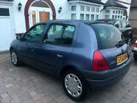 RENAULT CLIO AUTOMATIC ONLY 59,000 MILES FROM NEW 5 DOOR NEW MOT EXCELLENT CONDITION FIRST TO SEE!!