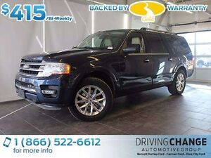 2015 Ford Expedition MAX Limited-Moon Roof-Nav-Power Running Boa