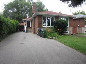 Detached Bungalow -Main floor for rent from 1 Aug 2018