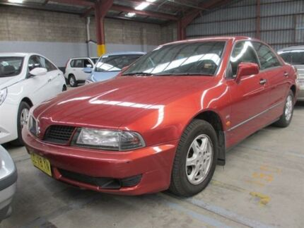 2003 Mitsubishi Magna TJ Advance Burgundy 4 Speed Auto Sports Mode Sedan Warabrook Newcastle Area Preview