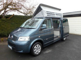 BILBO CELEX Motorhome. 2009, VWT5 2.5TDi 130-psi, only 31,000 miles, one owner.