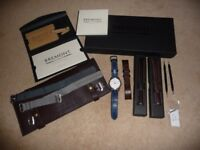 Bremont Solo men's watch and £700 of accessories
