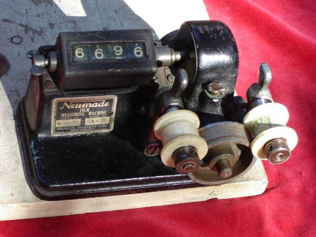 Neumade synchronizer for film editing vintage film equipment