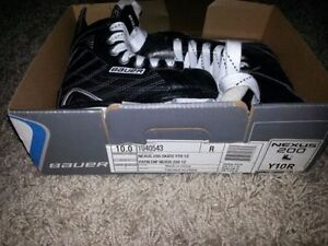 Bauer youth skates size Y10