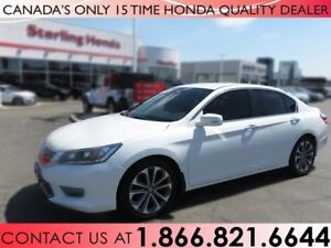 2014 Honda Accord SPORT | 1 OWNER | NO ACCIDENTS | CERTIFIED