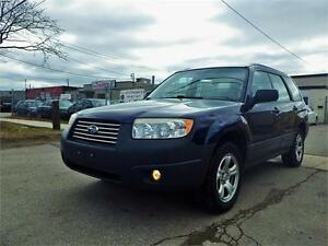 SOLD!!! SUBARU FORESTER 2.5 X AWD! LOW KM! CERTIFIED!