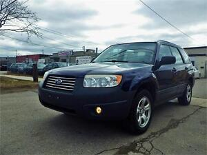 ALL ROAD SUBARU FORESTER 2.5 X AWD! LOW KM! CERTIFIED!