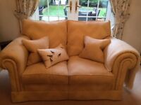 Duresta Suite, 3 and 2 seater, matching chair and footstool