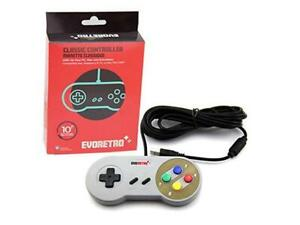 Retro SNES gamepad for PC and MAC (New in Box)