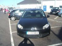 VOLKSWAGEN GOLF SE TDI (black) 2009