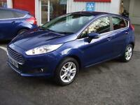 2014 64 Ford Fiesta 1.25 ( 82ps ) Zetec 5 Door Hatch s ka focus Low Tax £30