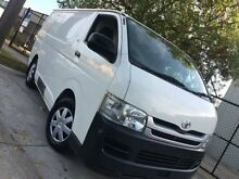 2009 Toyota Hiace  White Automatic Hatchback Dandenong Greater Dandenong Preview